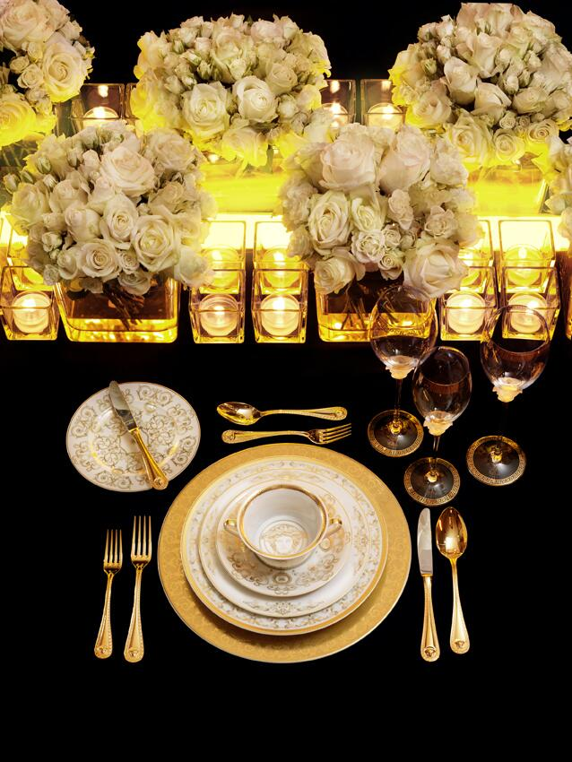 Gold&White, perfect match